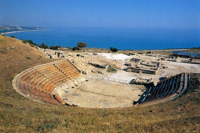 L'anfiteatro di Eracle Minoa