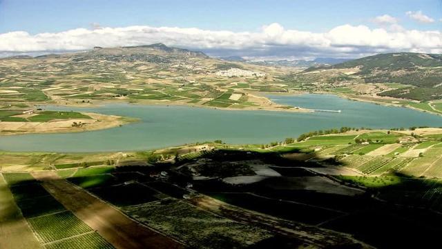 Il Lago Arancio - Sambuca di Sicilia