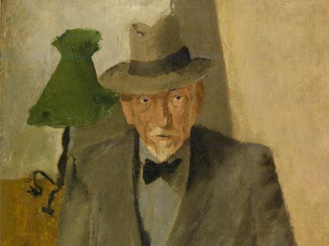 Luigi Pirandello il un ritratto realizzato dal figlio Fausto