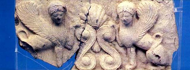 Un pregevole reperto del Museo archeologico di Giardini Naxos