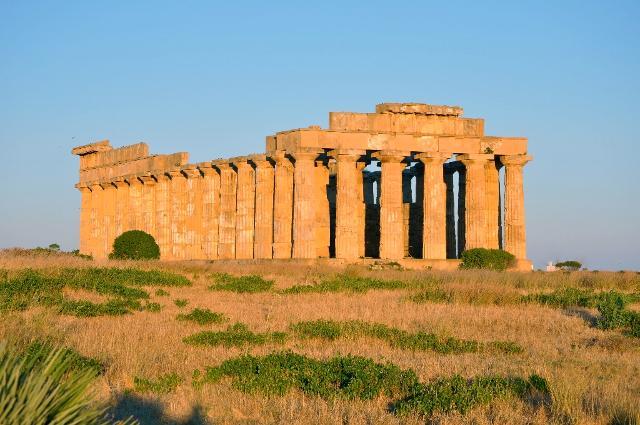 Il Tempio E o tempio di Era a Selinunte