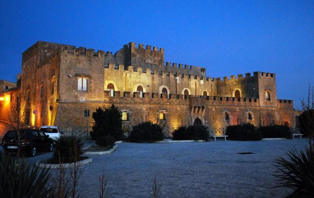 Il Castello Grifeo, oggi sede del Museo Civico della Preistoria del Basso Belice - Partanna