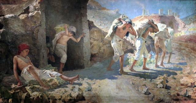 """I """"carusi"""" di Onofrio Tomaselli (1905)"""