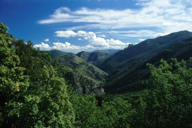 Panorama della Valle del Sosio