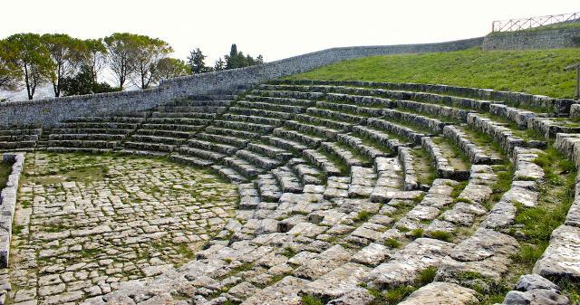 Il Teatro greco di Akrai