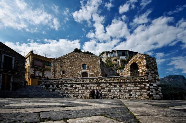 Piazza Sant'Antonio - Castelmola (ME)