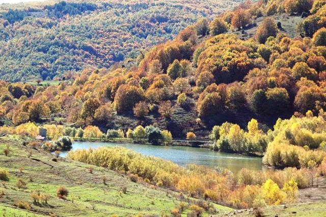 Un laghetto sulla Dorsale dei Nebrodi