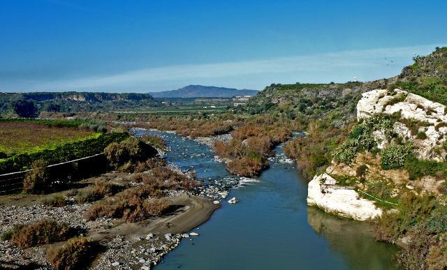 La foce del fiume Simeto