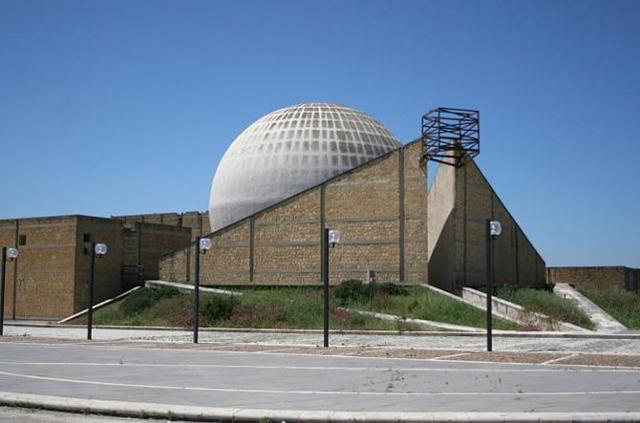 La chiesa Madre di Gibellina realizzata da Ludovico Quaroni