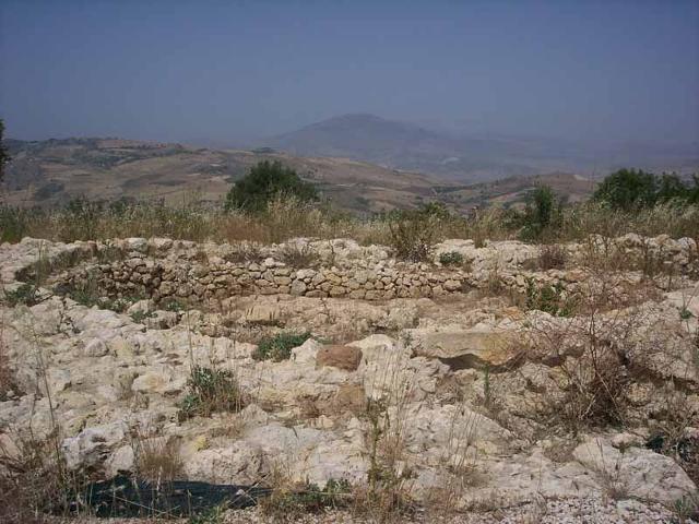 Zona archeologica di Monte Polizzello a Mussomeli