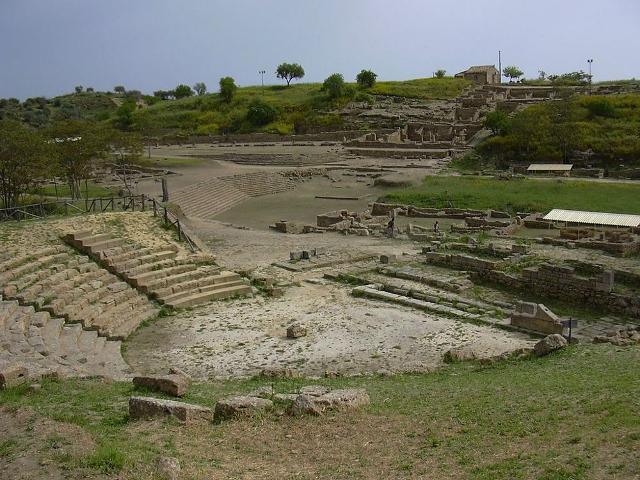 Il Teatro e il Santuario di Morgantina