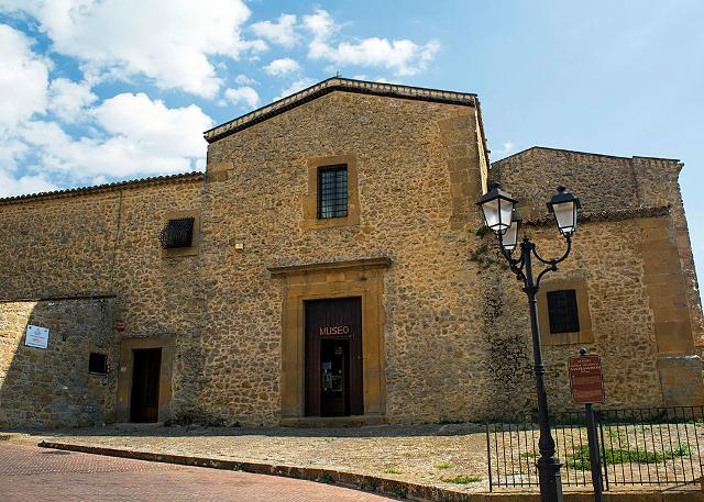 Il Museo Archeologico di Aidone che ha sede nell'ex Convento dei Cappuccini