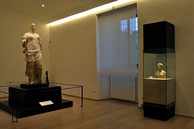 La sala della Venere di Morgantina - Museo Archeologico di Aidone (EN)