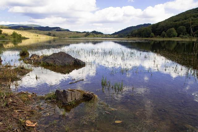 Un lago nei Nebrodi