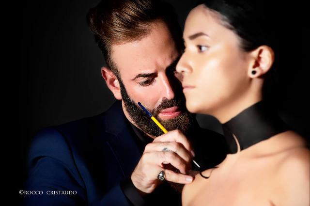 Orazio Tomarchi all'opera - ph Rocco Cristaudo