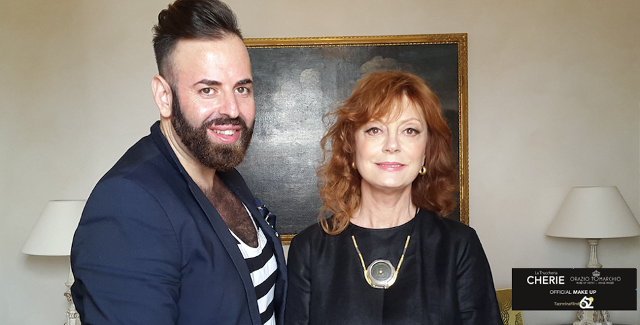 Orazio Tomarchio e Susan Sarandon