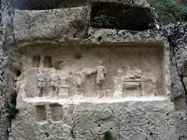 Particolare delle Latomie di Akrai - Palazzolo Acreide
