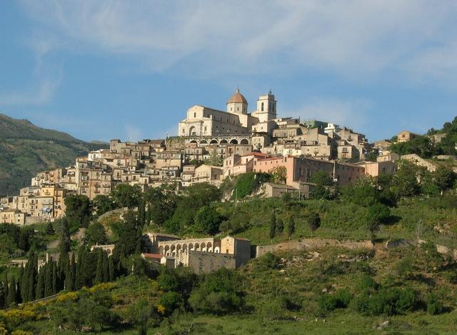 Panorama di Petralia Sottana