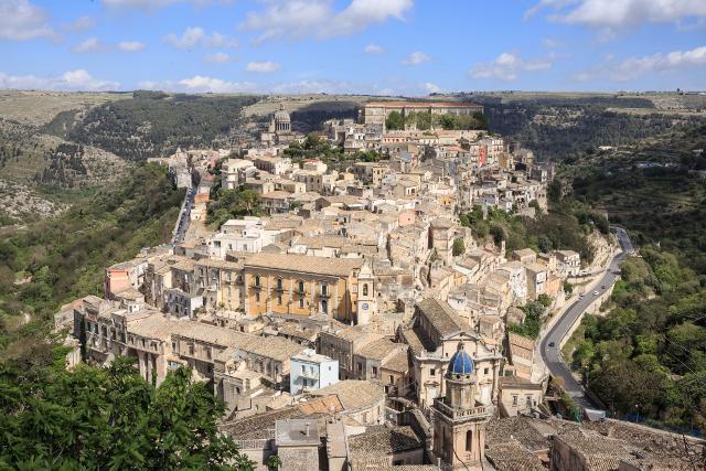 Panorama di Ragusa Ibla - Foto di Marcello Bocchieri