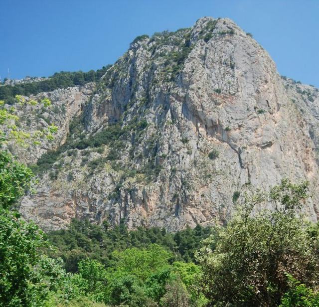 Veduta della Riserva di Monte Pellegrino (PA)