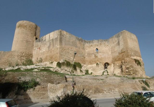 Castello dei conti Luna a Sciacca