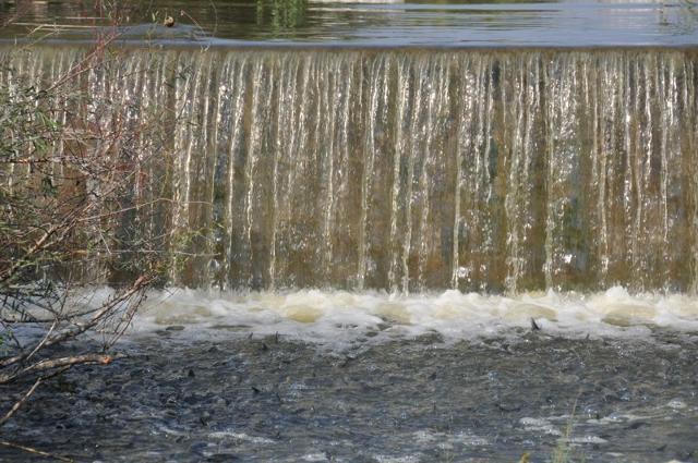 Cascatella del fiume Simeto