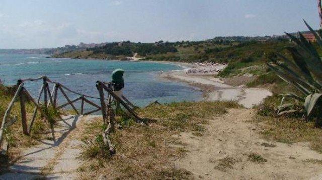 Una spiaggia di Alicudi - Eolie