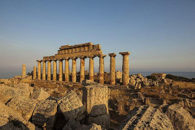Il Tempio C dedicato ad Apollo - Selinunte