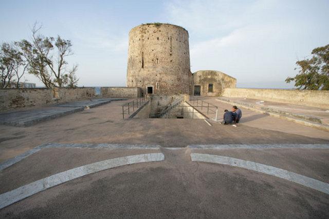 La Torre degli Inglesi a Capo Peloro