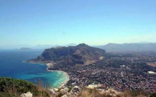 La Riserva naturale di Monte Pellegrino