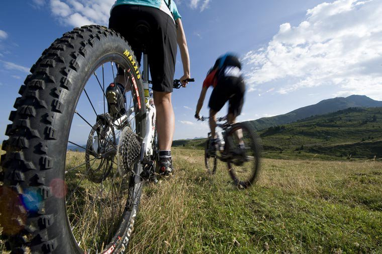 Il bosco di Sperlinga in mountain-bike