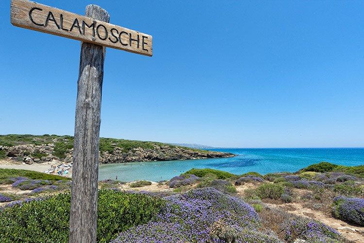 La spiaggia di Calamosche