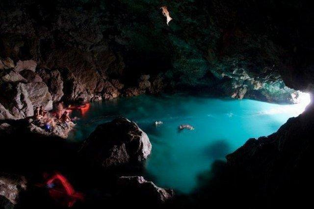 La Grotta dell'Olio a Capo Gallo