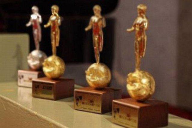 Le statuette del Premio internazionale Efebo d'Oro