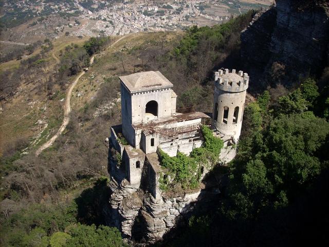 La torretta Pepoli di Erice