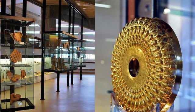 Phiale d'oro detta di Caltavuturo, tra i reperti più importanti custoditi nell'Antiquarium di Himera