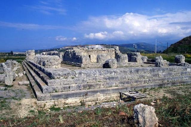 Le rovine del Tempio della Vittoria di Himera