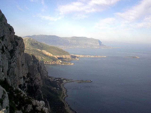 Panorama della Riserva di Capo Gallo