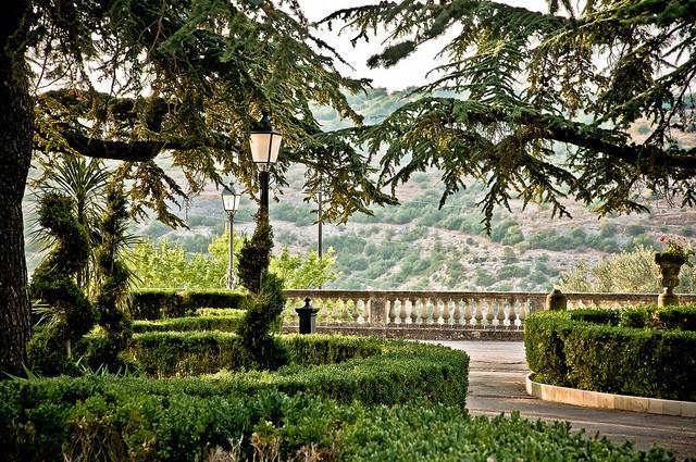 Uno scorcio dei Giardini Iblei