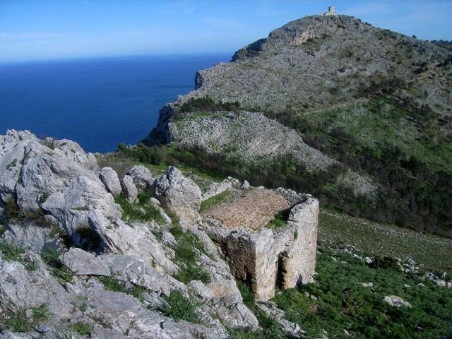 Veduta di Monte Gallo