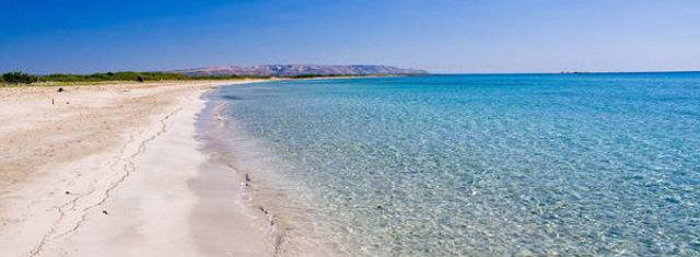 La spiaggia di Donnalucata