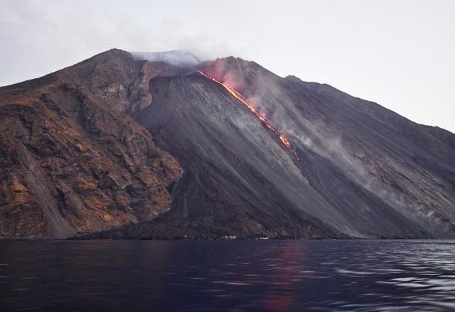 La Sciara del fuoco di Stromboli - Eolie