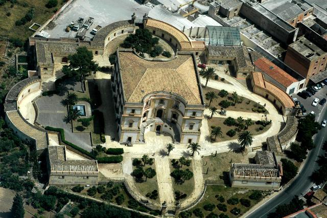 Vista aerea di Villa Cattolica