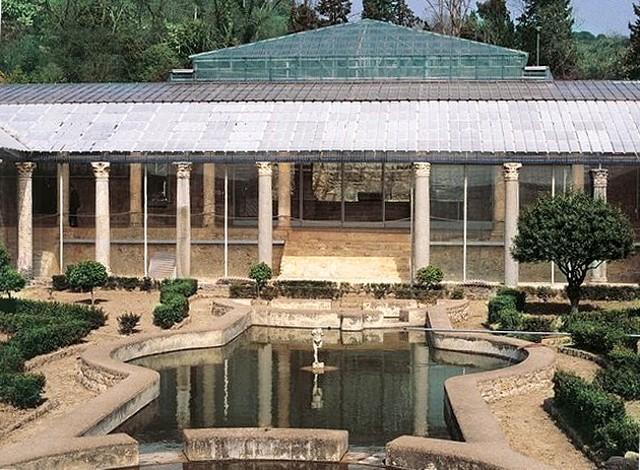 Ingresso della Villa romana del Casale di Piazza Armerina