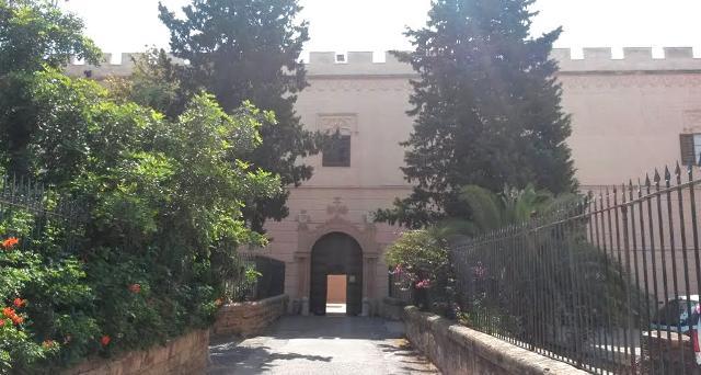 Ingresso di Villa San Cataldo
