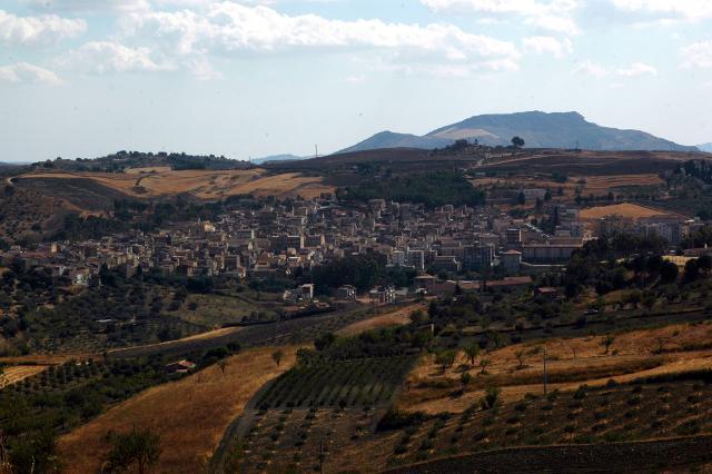 Panorama di Villarosa