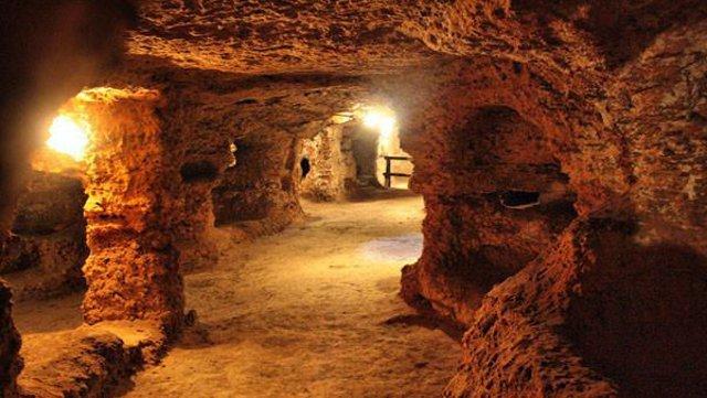 Catacomba paleocristiana di Porta D'Ossuna