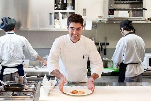 Accursio Craparo, chef del Ristorante Accursio di Modica