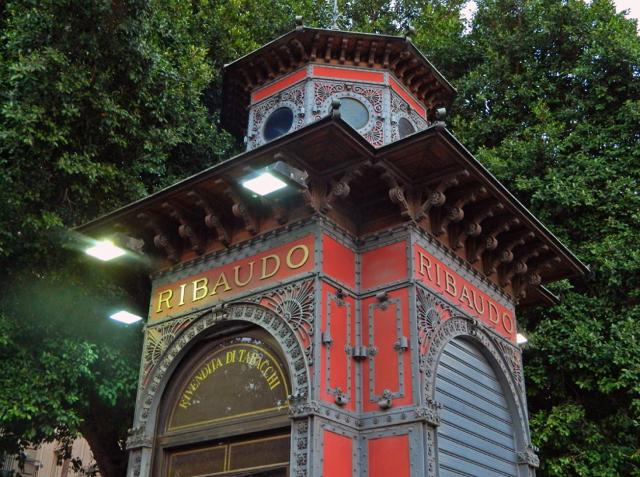 Il Chiosco Ribaudo di Piazza Giuseppe Verdi