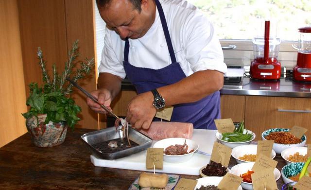 Ciccio Sultano, chef del Ristorante Duomo (2 stelle Michelin) di Ragusa Ibla